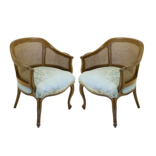 Vintage French Style Chairs - A Pair