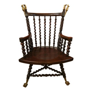 Traditional 1850 Merken Bros Armchair