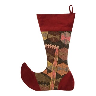 Large Kilim Christmas Stocking | Party