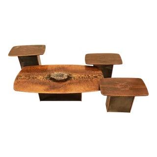 Marc D'Haenens Set of Four Modernist Cocktail Tables