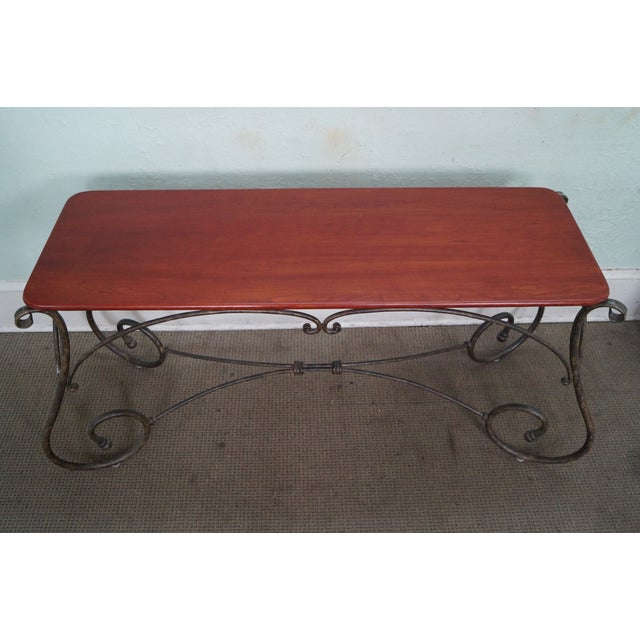 Brown Jordan Tuscan Style Console Table - Image 4 of 10