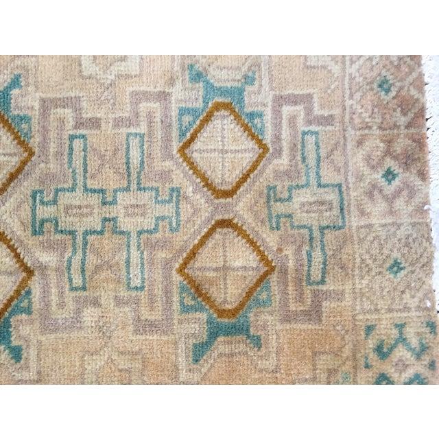 "Turkaman Handmade Persian Rug 1'6"" x 2'8"" - Image 5 of 10"