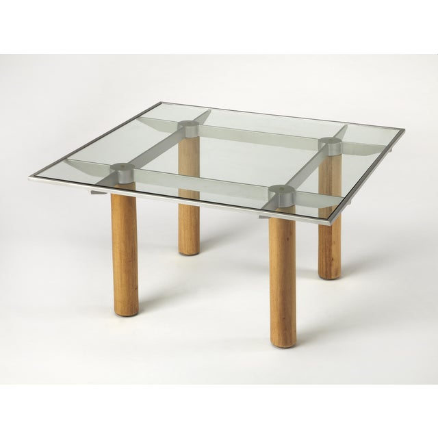Butler Specialty Cirrus Glass & Metal Coffee Table - Image 3 of 3