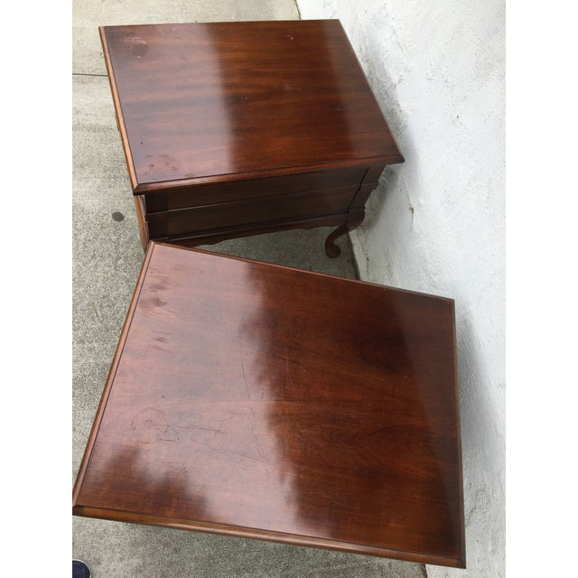 Mersman Queen Anne End Tables - A Pair - Image 9 of 10