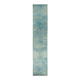"""Hand Knotted """"Vibrance"""" Runner Rug - 2' 7"""" X 13' 5"""""""