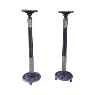 Vintage Torcheres - Pair