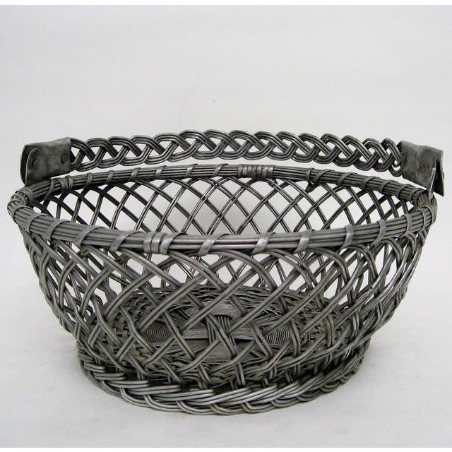 Vintage Tin Basket - Image 5 of 8