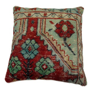 Red Anatolian Rug Pillow
