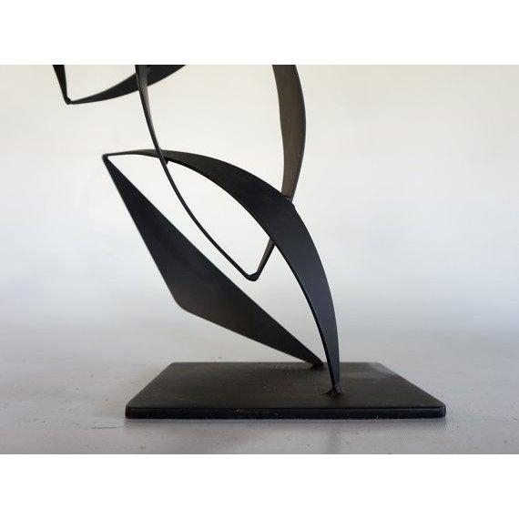 Maurizio Tempestini Style Iron Sculpture - Image 6 of 6