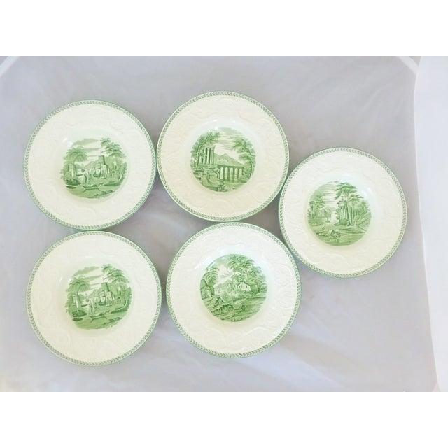 Wedgwood Creamware Rim Soup Bowls - Set of 5 - Image 3 of 7