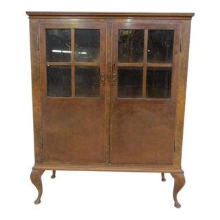 Vintage Book Cabinet