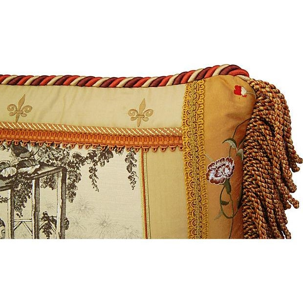Image of Custom Brunschwig & Fils Toile Accent Pillow