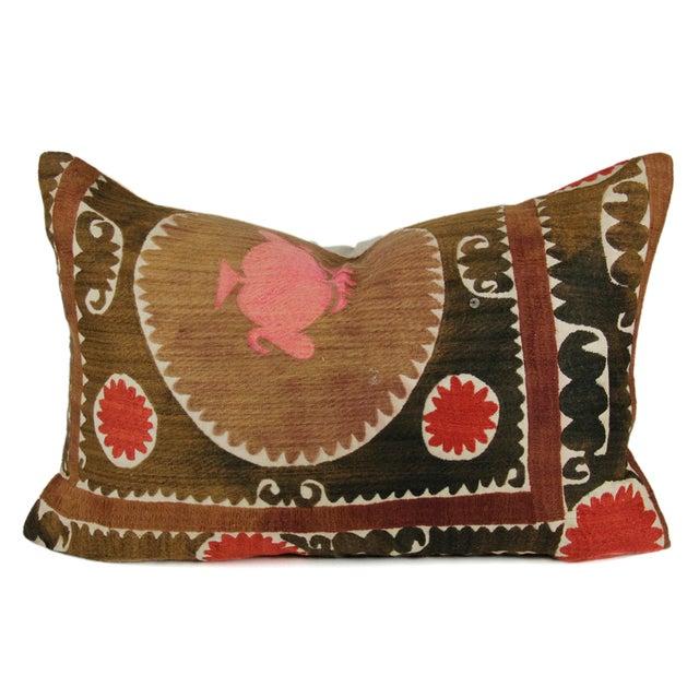 Image of Lumbar Suzani Qarshi Pillow