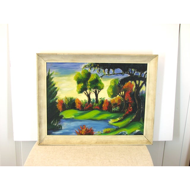 Nilo Da Corta Surreal Impressionism Oil Painting - Image 2 of 6