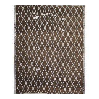 "Hand Knotted Navajo Rug by Aara Rugs Inc. - 9'3"" X 12"""