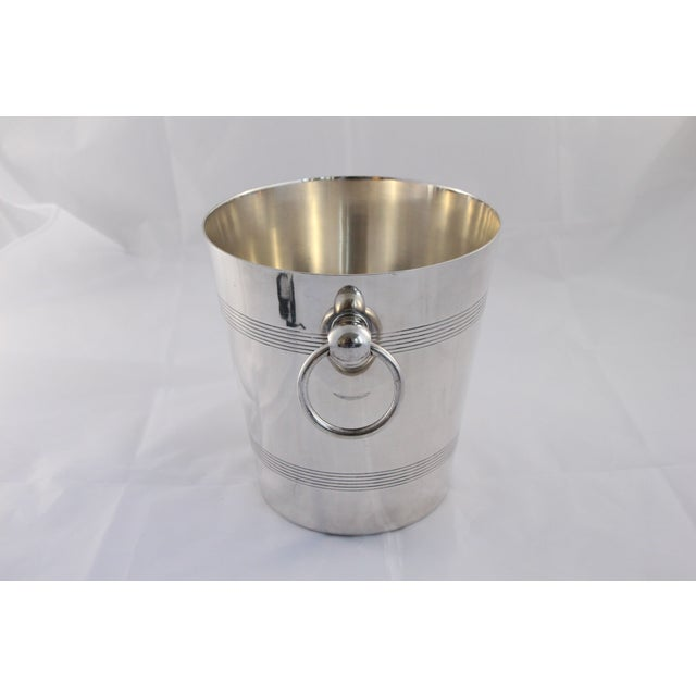 Image of Silver French Champagne Bucket