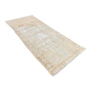 Antique Turkish Wool Runner - 3′7″ × 8′10″