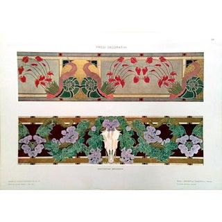 1910 Modelli d'Arte Decorativa Grondona Lithograph