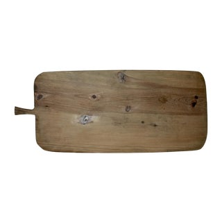 Vintage Footed European Breadboard