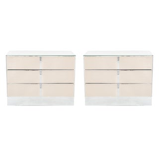Ello Dusty Rose Side Dressers - A Pair
