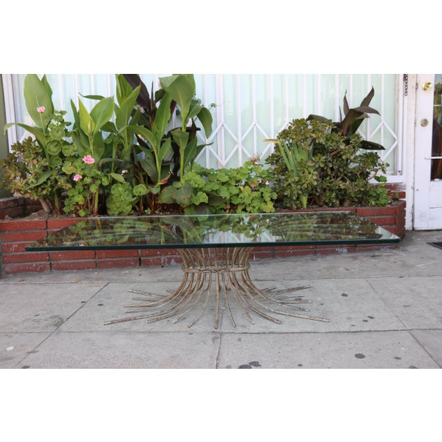 "Vintage Metal ""Tree"" Roots Coffee Table - Image 3 of 11"