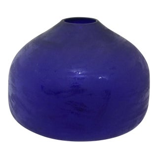 Helen Eiserling Hand Blown Glass Vessel, 1994