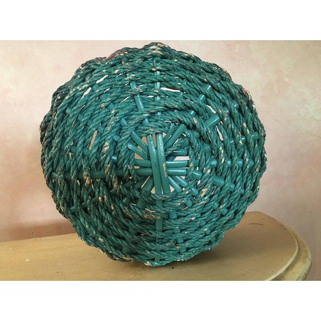 Painted Basket - Boho Chic - Image 4 of 4