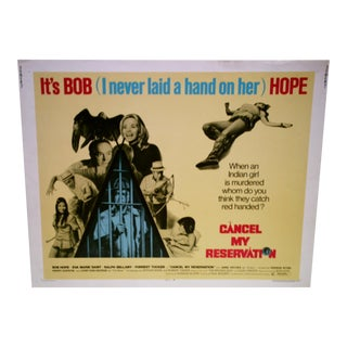 Vintage Movie Poster 'Cancel My Reservation'
