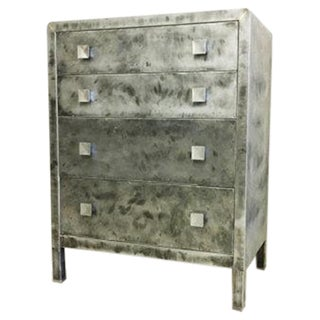 Norman Bel Geddes Metal Dresser