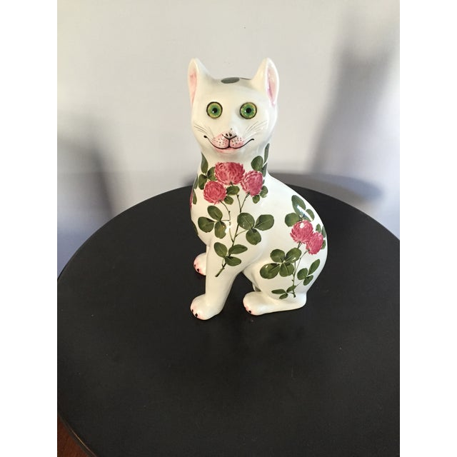 Plichta Pottery Nekola Pinxt Cat London England - Image 2 of 7