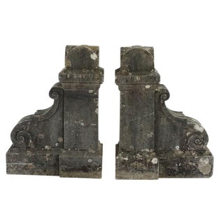 19th Century Pair of French Corbels