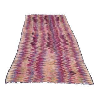 Handmade Vintage Kilim - 2′8″ × 8′2″