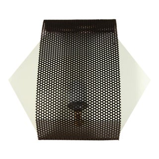 Perforated Hex Sconce by Lawson-Fenning