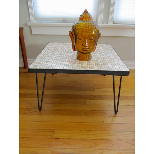 Image of Mosaic Mid-Century Modern Coffee Table