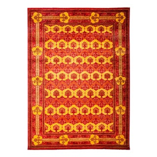 """Arts & Crafts, Hand Knotted Area Rug - 8'10"""" X 12'5"""""""