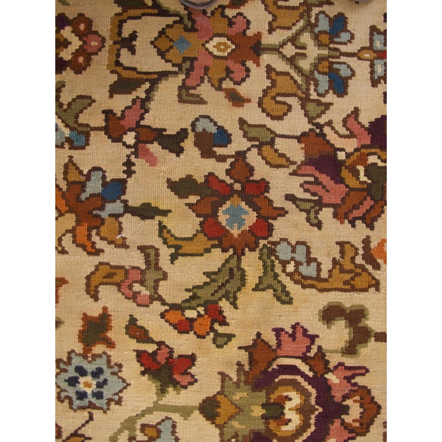 Bessarabian Room-Size Woven Kilim - Image 6 of 10