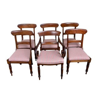 English Regency Chairs - Set of 5