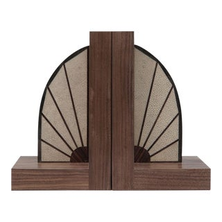 Walnut Bookends