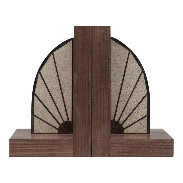 Walnut Bookends - Image 1 of 5