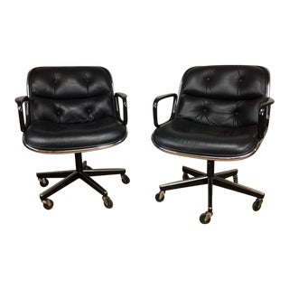 Charles Pollock Executive Office Chair - A Pair