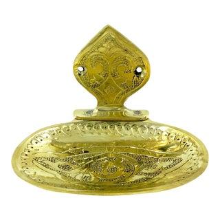 Moroccan Brass Soap Dish