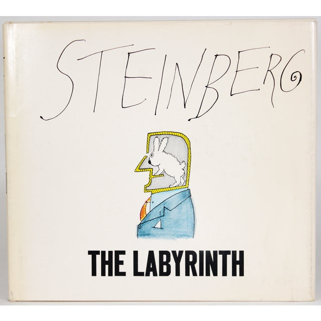 """""""The Labyrinth"""" 1st Ed. Book by Saul Steinberg - Image 2 of 11"""