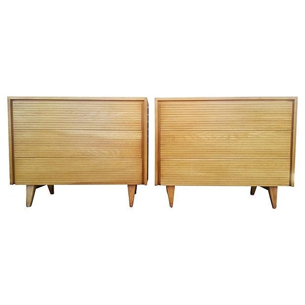 Image of Refinished 1950s Bachelor Chests - Pair