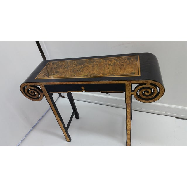 James Mont Style Asian Console Table - Image 2 of 4