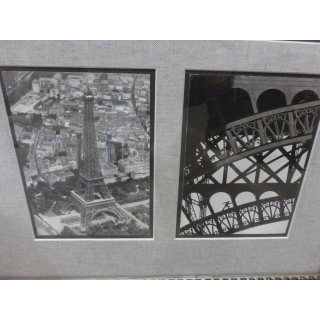 Photographs of Eiffel Tower in 1938 - Framed - Image 4 of 8