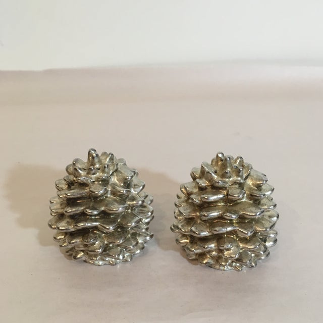Godinger Silver Art Pinecone Salt & Pepper Shakers - A Pair - Image 3 of 6