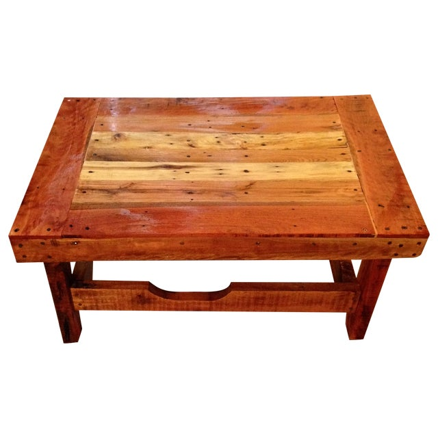 Reclaimed Wood Coffee Table Ireland: Reclaimed Pallet Wood Coffee Table