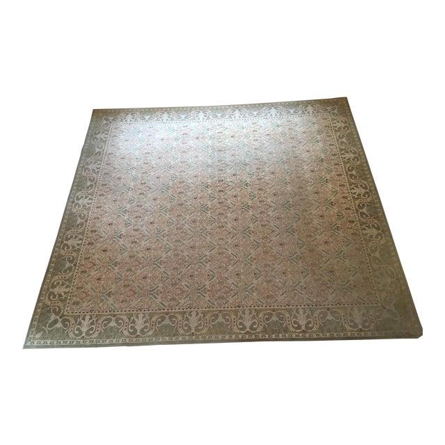 Custom Wool Tufted Rug -- 15′ × 16′ - Image 1 of 5