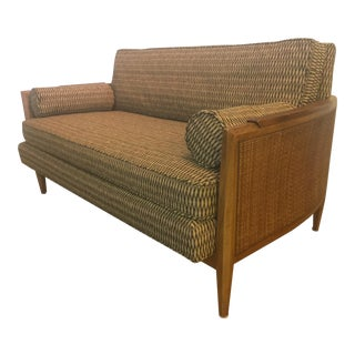 Heritage Loveseat with Wicker Sides