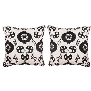 Madeline Weinrib Suzani Pillows - A Pair